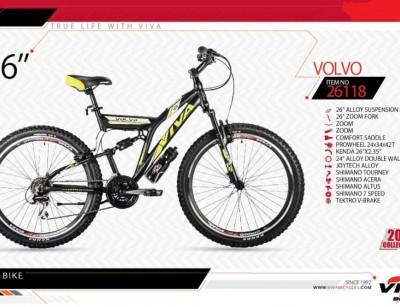 دوچرخه کوهستان ویوا مدل وولوو کد 26118 سایز 26 -  VIVA VOLVO 2019 colection