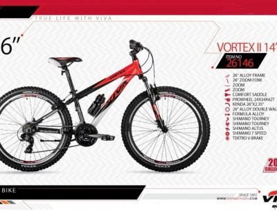 دوچرخه کوهستان ویوا مدل وورتکس کد 26146  سایز 26 -  VIVA VORTEX II 14- 2019 colection