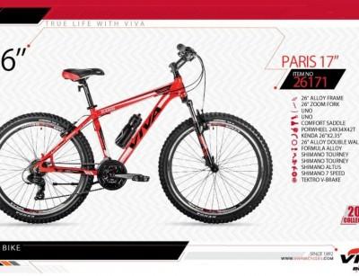 دوچرخه کوهستان ویوا مدل پاریس کد 26171 سایز 26 -  VIVA PARIS17- 2019 colection