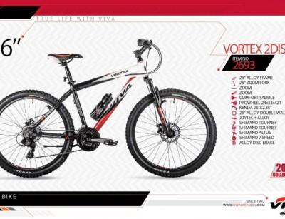 دوچرخه کوهستان ویوا مدل وورتکس کد 2693 سایز 26 -  VIVA VORTEX 2DISC- 2019 colection