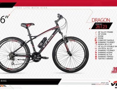 دوچرخه کوهستان ویوا مدل دراگون کد 26123  سایز 26 -  VIVA DRAGON- 2019 colection