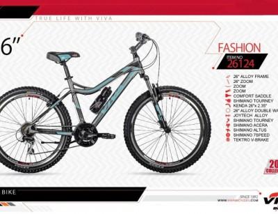 دوچرخه کوهستان ویوا مدل فشن کد 26124 سایز 26 -  VIVA FASHION- 2019 colection