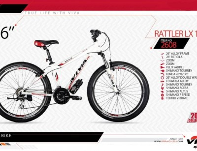 دوچرخه کوهستان ویوا مدل راتلر کد 2608  سایز 26 -  VIVA RATTLER LX 14- 2019 colection