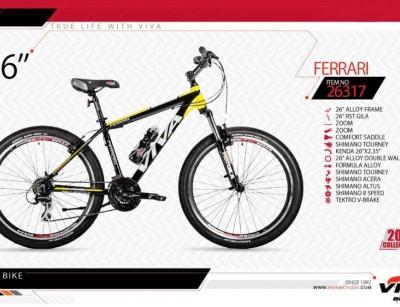 دوچرخه کوهستان ویوا مدل فراری کد 26317 سایز 26 -  VIVA FERRARI - 2019 colection