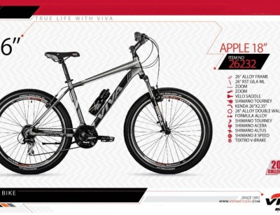 دوچرخه کوهستان ویوا مدل اپل کد 26232 سایز 26 -  VIVA APPLE18 - 2019 colection