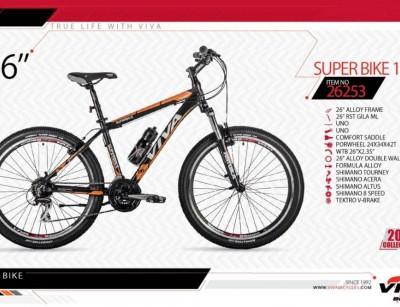 دوچرخه کوهستان ویوا مدل سوپر بایک سایز 26 -  VIVA SUPER BIKE17 - 2019 colection کد 26253