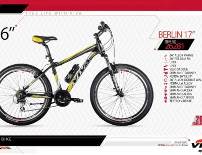 دوچرخه کوهستان ویوا مدل برلین کد 26281  سایز 26 -  VIVA BERLIN17 - 2019 colection