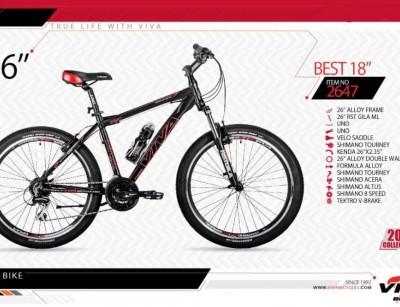 دوچرخه کوهستان ویوا مدل بست سایز 26 -  VIVA BEST18 - 2019 colection کد 2647