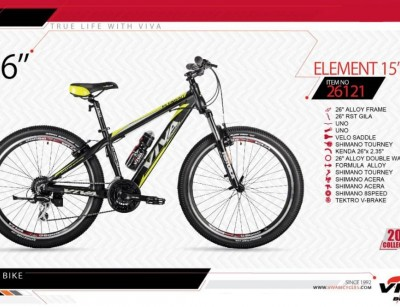 دوچرخه کوهستان ویوا مدل المنت سایز 26 -  VIVA ELEMENT15 - 2019 colection