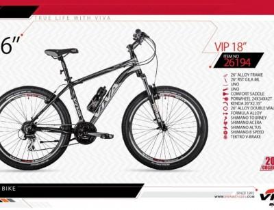 دوچرخه کوهستان ویوا مدل وی آی پی سایز 26 -  VIVA VIP18 - 2019 colection