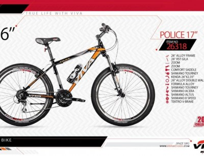 دوچرخه کوهستان ویوا مدل پلیس سایز 26 -  VIVA POLICE17 - 2019 colection