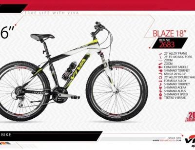 دوچرخه کوهستان ویوا مدل بلیز کد 2683 سایز 26 -  VIVA BLAZE18 - 2019 colection