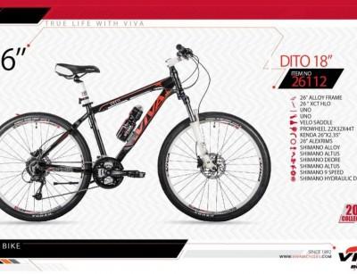 دوچرخه کوهستان ویوا مدل دیتو کد 26112 سایز 26 -  VIVA DITO18 - 2019 collection