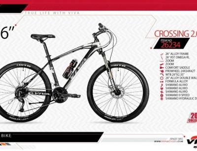 دوچرخه کوهستان ویوا مدل کراسینگ کد 26234 سایز 26 -  VIVA CROSSING2.0 - 2019 collection
