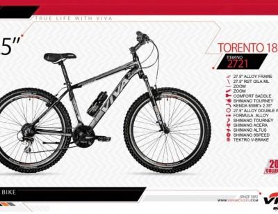 دوچرخه کوهستان ویوا مدل تورنتو کد 2721 سایز 27.5 -  VIVA TORENTO18- 2019 collection