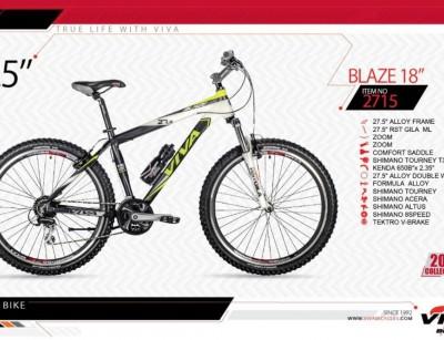 دوچرخه کوهستان ویوا مدل بلیز کد 2715 سایز 27.5 -  VIVA BLAZE18- 2019 collection