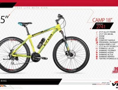 دوچرخه کوهستان ویوا مدل کمپ کد 2741 سایز 27.5 -  VIVA CAMP18- 2019 collection