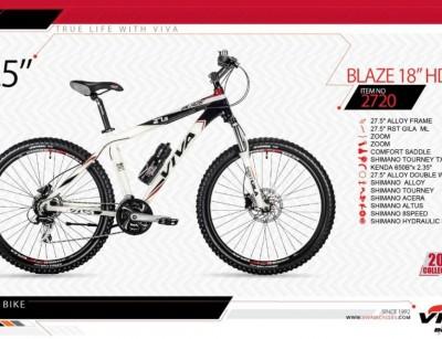 دوچرخه کوهستان ویوا مدل بلیز کد 2720 سایز 27.5 -  VIVA BLAZE18 HD- 2019 collection