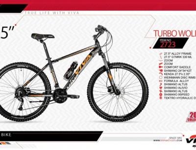 دوچرخه کوهستان ویوا مدل توربو وولف کد 2723 سایز 27.5 -  VIVA TURBO WOLF18- 2019 collection