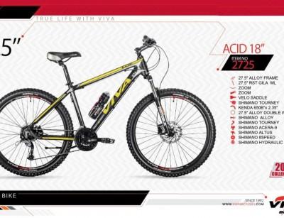 دوچرخه کوهستان ویوا مدل اسید کد 2725 سایز 27.5 -  VIVA ACID18- 2019 collection