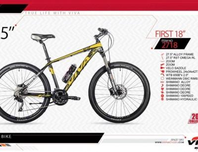 دوچرخه کوهستان ویوا مدل فرست کد 2718 سایز 27.5 -  VIVA FIRST18- 2019 collection