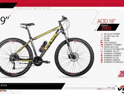 دوچرخه کوهستان ویوا مدل اسید کد 2903 سایز 29 -  VIVA ACID18- 2019 collection