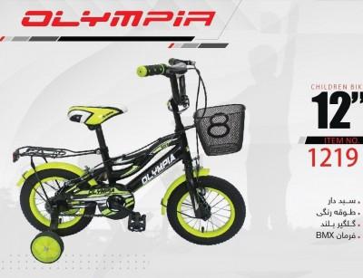 دوچرخه بچه گانه المپیا مدل 1219 سایز 12 -  OLYMPIA