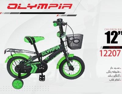 دوچرخه بچه گانه المپیا مدل 12207 سایز 12 -  OLYMPIA