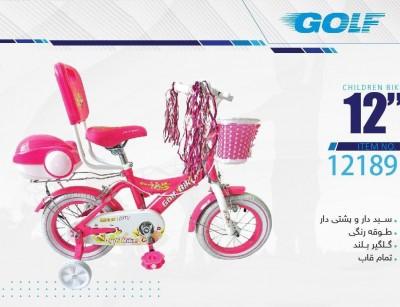 دوچرخه بچه گانه گلف  مدل 12189 سایز 12 -  GOLF