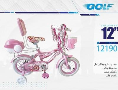دوچرخه بچه گانه گلف مدل 12190 سایز 12 -  GOLF