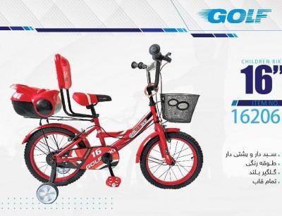 دوچرخه بچه گانه گلف  مدل 16206 سایز 16 -  GOLF