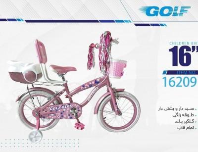 دوچرخه بچه گانه گلف  مدل 16209 سایز 16 -  GOLF