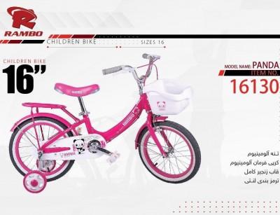 دوچرخه بچه گانه رامبو مدل پاندا سایز 16 کد 16130 -  RAMBO PANDA