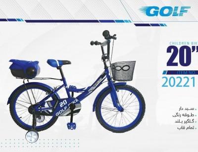 دوچرخه بچه گانه گلف مدل 20221 سایز 20 -  GOLF