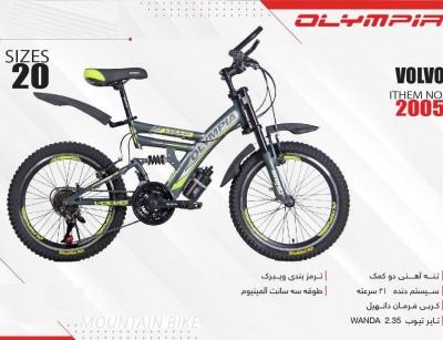 دوچرخه بچه گانه المپیا مدل volvo کد 2005 سایز 20 -  OLYMPIA