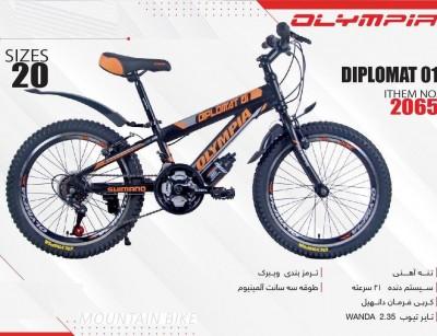 دوچرخه بچه گانه المپیا مدل DIPLOMAT01 کد 2065 سایز 20 -  OLYMPIA