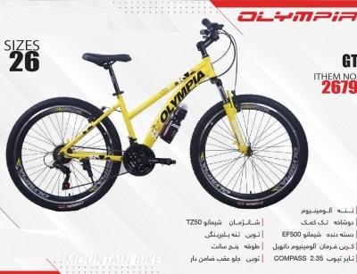 دوچرخه المپیا جی تی کد 2679 سایز 26 -    OLYMPIA GT