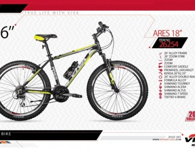 دوچرخه ویوا آرس کد 26254 سایز 26 -   VIVA ARES18 2019 COLLECTION