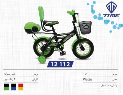 دوچرخه تایم مدل واتو کد 12112 سایز 12- TIME WATTO