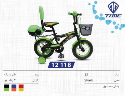 دوچرخه تایم مدل شارک کد 12118 سایز 12- TIME SHARK