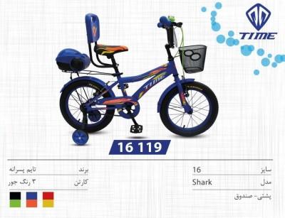 دوچرخه تایم مدل شارک کد 16119 سایز 16- TIME SHARK