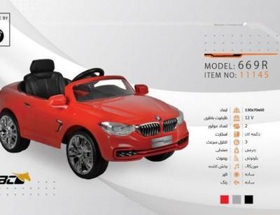 ماشین شارژی بی ام و مدل BMW 669R کد 11145