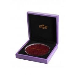 جعبه کادویی زعفران 3 مثقالی طرح ویولت شاهسوند