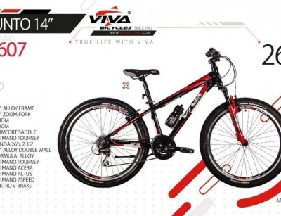 دوچرخه ویوا پونتو 14 سایز 26 کد 2607 -  VIVA PUNTO 14