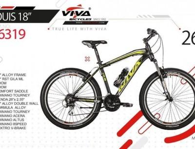 دوچرخه ویوا لوییس 18 سایز 26 کد 26319 -  VIVA LOUIS 18