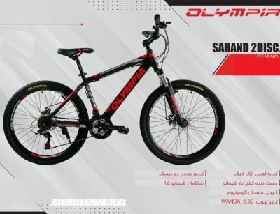 دوچرخه المپیا سهند دیسکی کد 2482 سایز 24 -   OLYMPIA SAHAND 2DISC