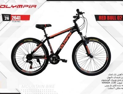دوچرخه المپیا ردبول کد 2641 سایز 26 - OLYMPIA REDBULL 02