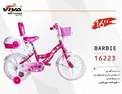 دوچرخه  ویوا باربی سایز 16 کد 16223 - VIVA BARBIE