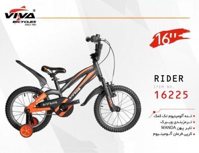 دوچرخه ویوا رایدر سایز 16 کد 16225 تنه آلومینیومی - VIVA RIDER