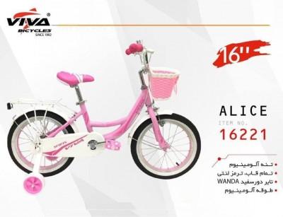 دوچرخه ویوا آلیس سایز 16 کد 16221 - VIVA ALICE